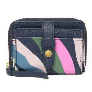 Fossil Fiona Mini Leather Coin Wallet